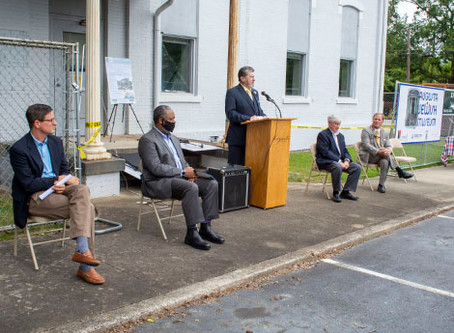 Augusta Mayor and Dignitaries Celebrate Phase One Renovation of the Augusta Jewish Museum