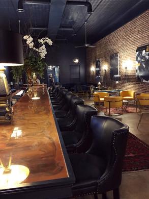 Large Built-in Bar