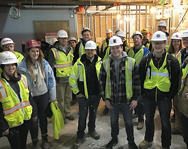 The HUB Apartments Tour Construction and Facility Management Student Association CFMSA