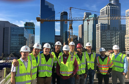 Kraus Anderson Block Tour Construction and Facility Management Student Association CFMSA