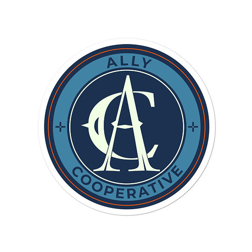 ACFC Ally Sticker