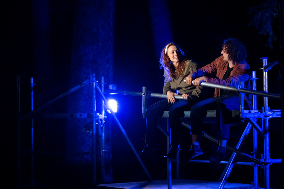 Zora und Branko auf dem Boot