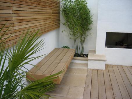 Built-in Garden Seating