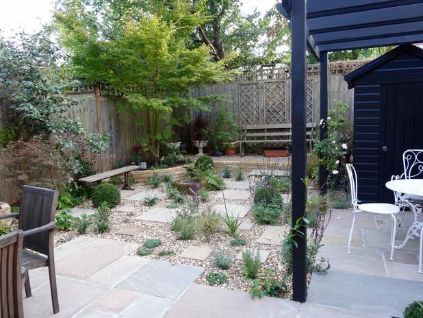 York stone & gravel garden