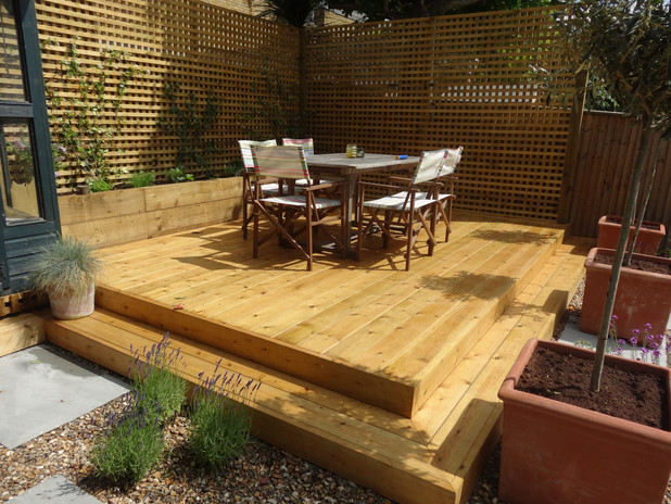 Raised Deck
