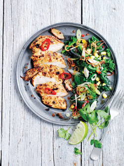 MARINATED CHICKEN BREAST WITH LIME,