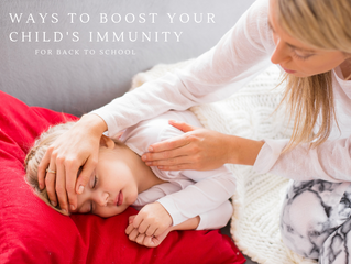 10 tips to boost your child's immunity