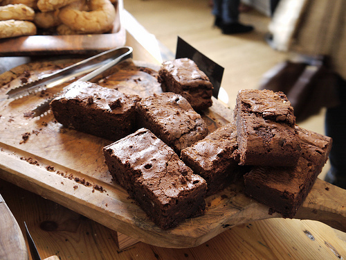 Chocolate Chickpea Brownie