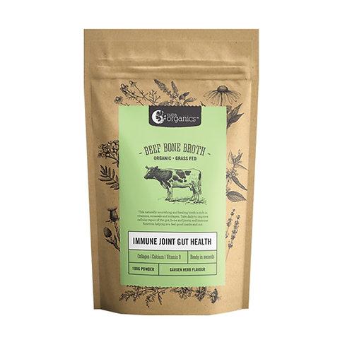 NutraOrganics Organic Beef Bone Broth Garden Herb 100g