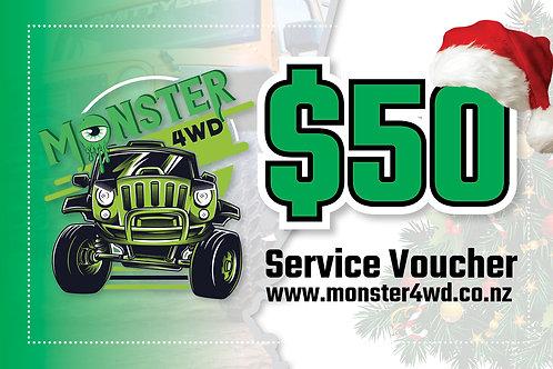 Christmas Service Voucher