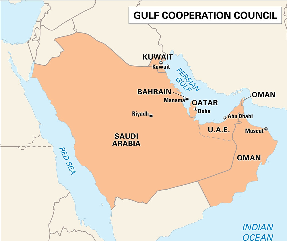 Relation of India with Gulf nations
