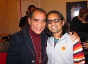 Lalit with Veeresh