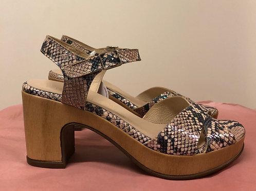 Wonder højhælede sandal