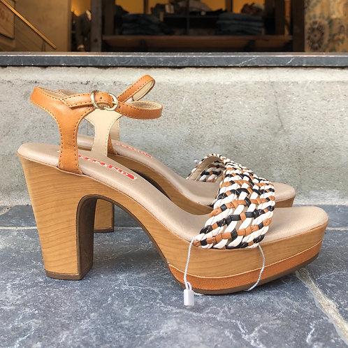Weekend høj sandal