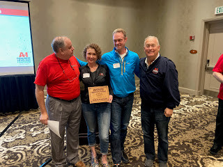 A-1 Concrete Leveling Western New York Receives 2019 Top Performer Award
