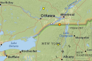 Earthquake Causes Ground to Shift Today