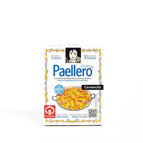 Paellero Carmencita Traditional spice blend with safron 20g