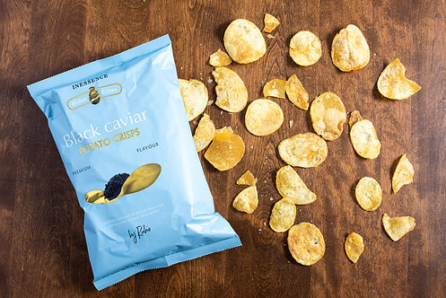 Inessence Potato Chips Black Caviar Flavoured