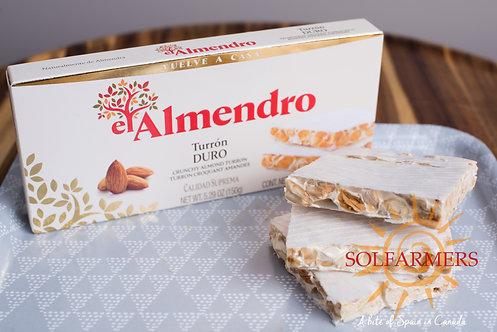 El Almendro Turron Duro Crunchy 150gr