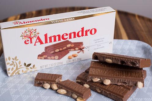 El Almendro Chocolate Turron 200Gr