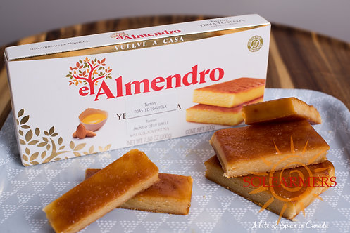 El Almendro Toasted Egg Yolk Turron 200gr