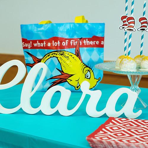 CLARA'S BDAY