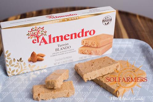El Almendro Creamy Almond Turron 250gr