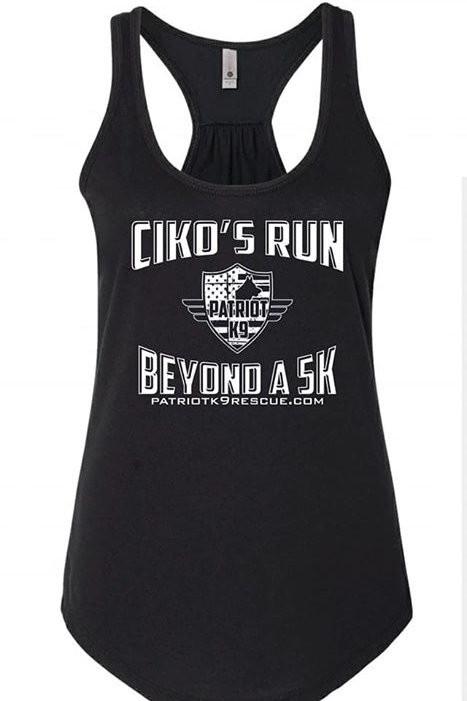 Ciko's Run 5K Ladies Flowy Tank