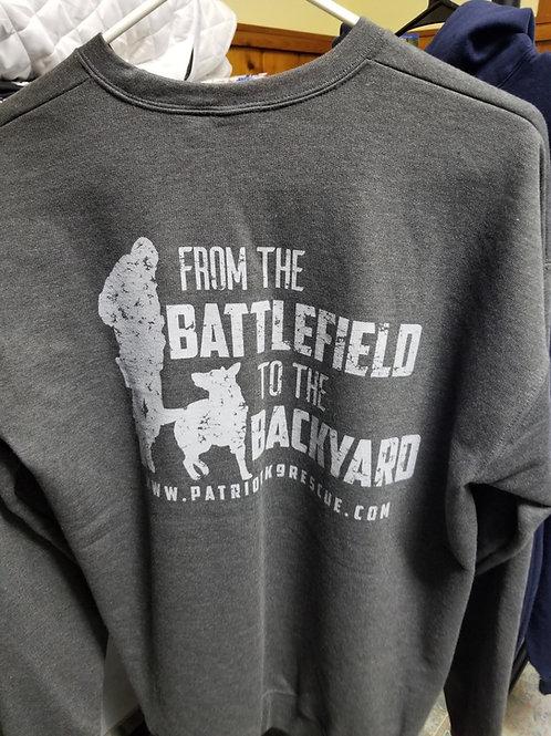 From the Battlefield to Your Backyard Sweatshirt
