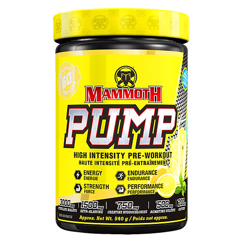Mammoth Pump Natural