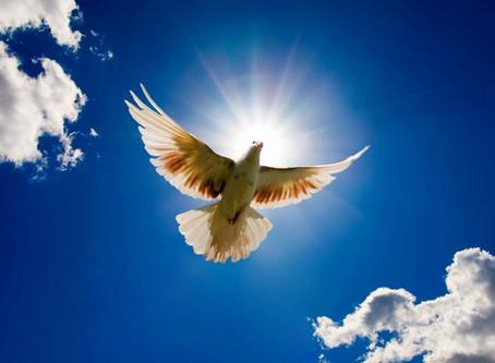 Depuis quand le Saint-Esprit est-il présent sur terre?