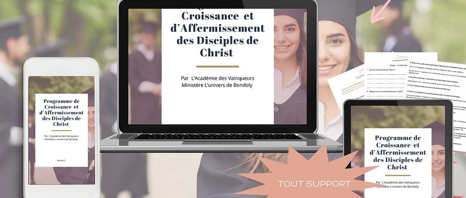 Programme de Croissance et d'Affermissement des Disciples de Christ (Session 2)