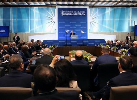 Sommet sur la liberté religieuse: Des sanctions ont été annoncées.