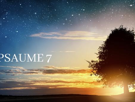 Prière du Psaume 7 contre les oppressions spirituelles.