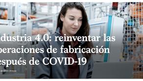 Industria 4.0: reinventar las operaciones de fabricación después de COVID-19 (McKensey)