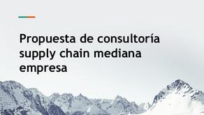 Consultoria Supply Chain Mediana Empresa