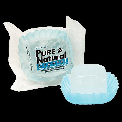 Pure & Natural™ Deodorant Stone in Dish