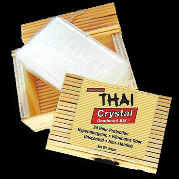 Thai™ Deodorant Stone in Decorative Bamboo Box