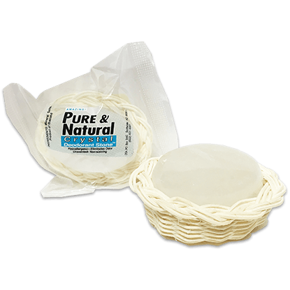 Pure & Natural™ Deodorant Stone in Decorative Basket