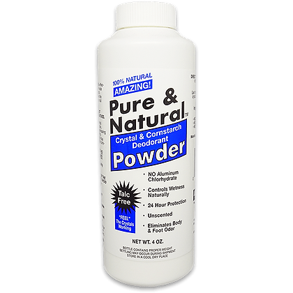Pure & Natural™ Deodorant Body Powder