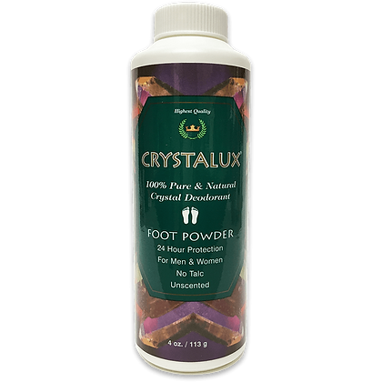 Crystalux® Foot Powder