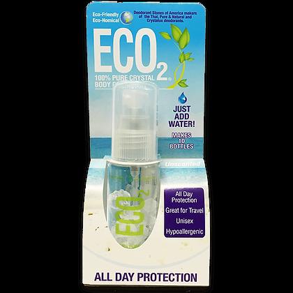 ECO2 Refillable Deodorant Mist