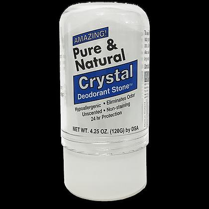 Pure & Natural™ Large Crystal Deodorant Stick (4.25 oz)