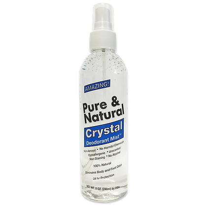 Pure & Natural™ Crystal Mist Body Spray (8 oz)