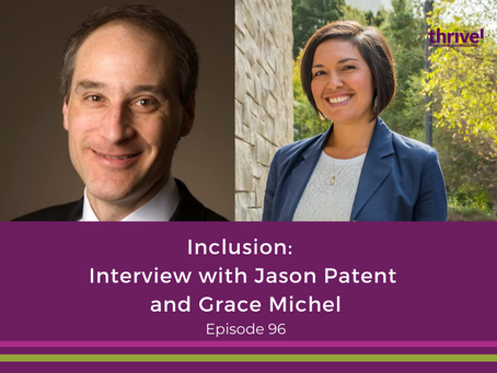 Inclusion: Interview with Jason Patent and Grace Michel