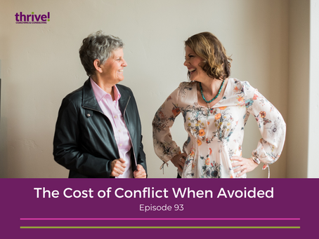 The Cost of Conflict When Avoided