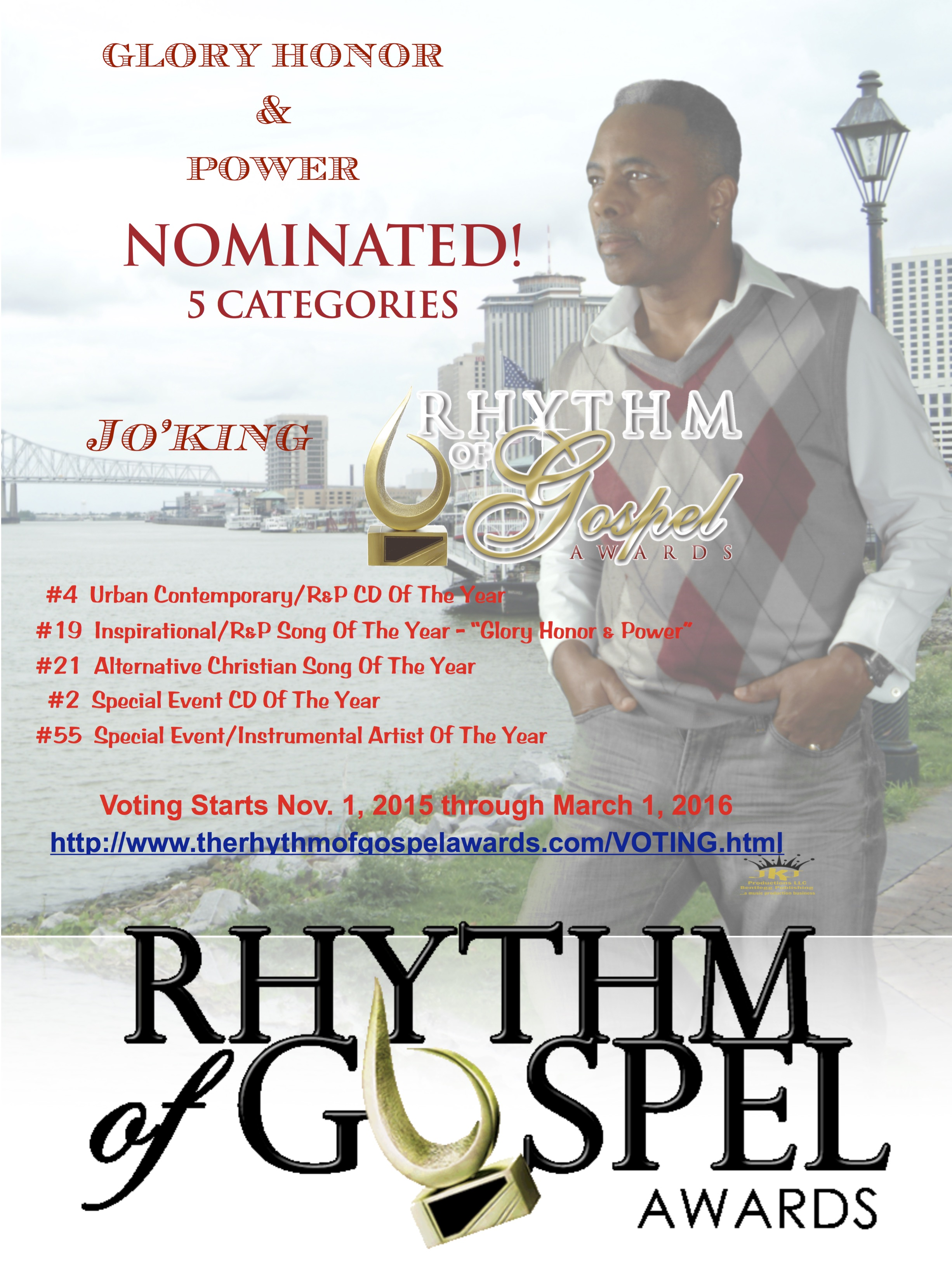 Rhythm Of Gospel Awards-Voting