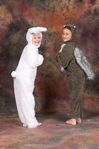Mary Poppins squirrels and bunnies 2015