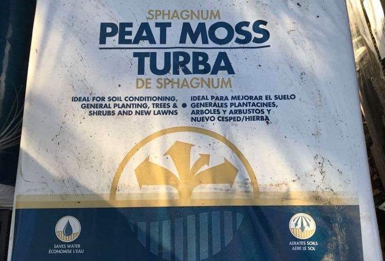 Peat Moss 3.8 Cubic Feet