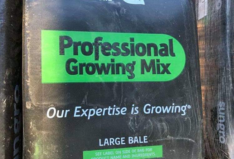 Potting Soil 3.8 Cubic Feet